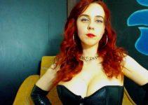 Harsh Redhead Mistress Small Penis Humiliation
