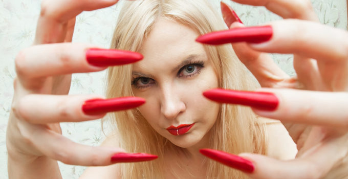 blond nail fetish mistress webcam SPH