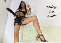 Merciless Humiliatrix MistressInanna ready to ridicule little penis on cam