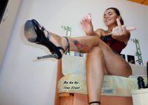 Strict small penis humiliation webcam dominatrix