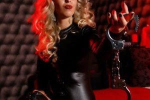 Cruel live blonde humiliatrix SPH webcams for tiny penis loser